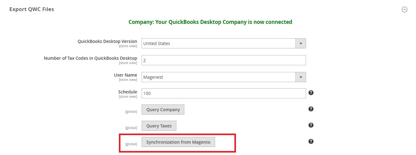 2. QuickBooks Desktop Integration User Guide