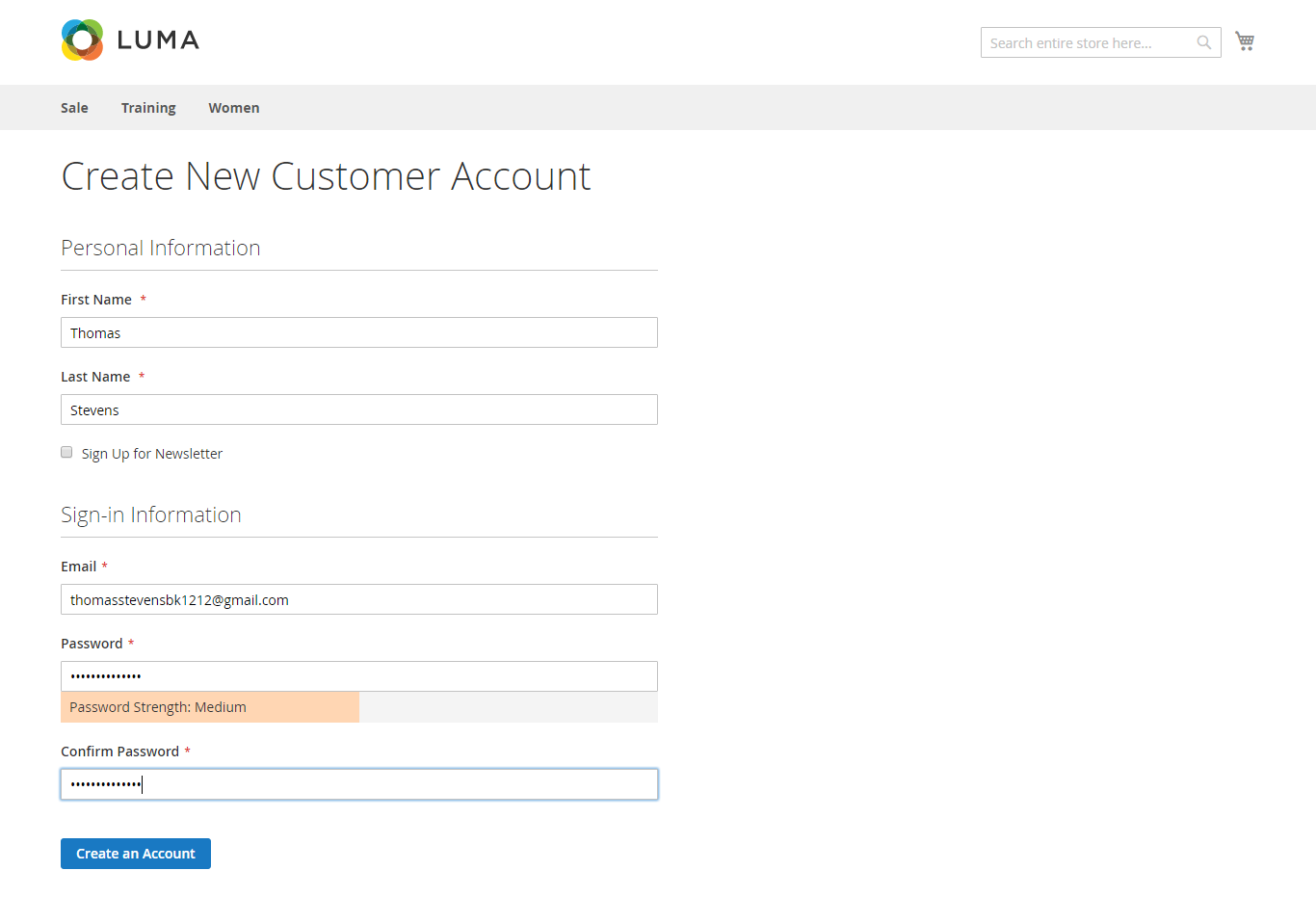 Customer account create/downloader - Salesforce Leads Salesforce Contacts Salesforce Accounts