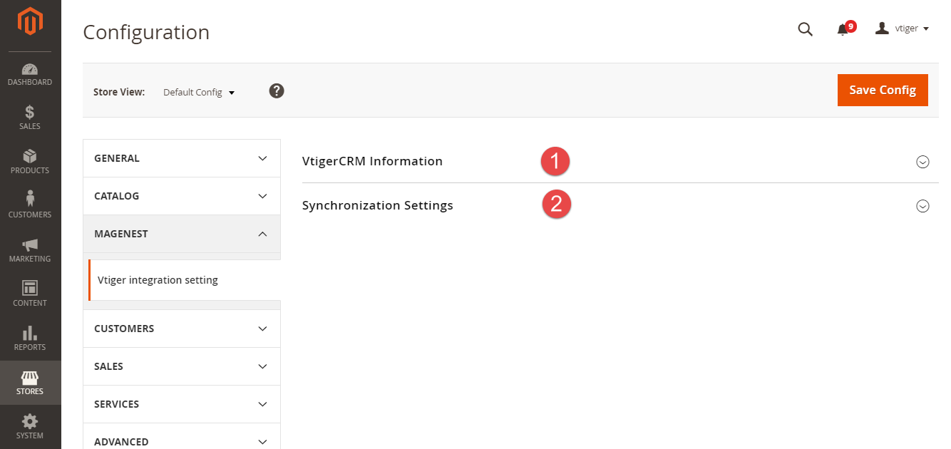 2  Vtiger CRM Integration User Guides - Documentation - Magenest