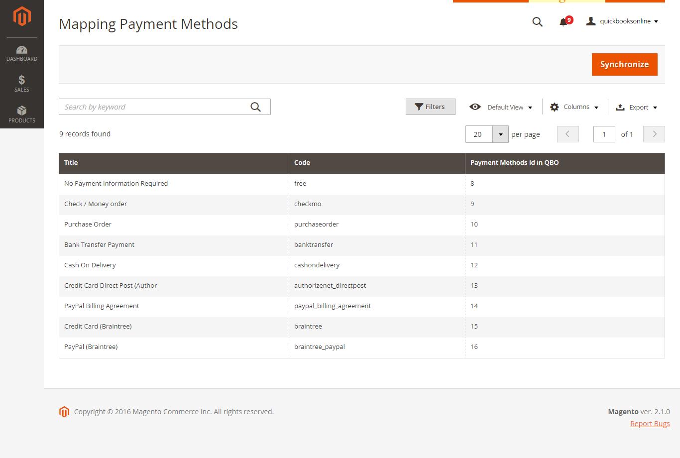 2  QuickBooks Online Integration User Guides - Documentation