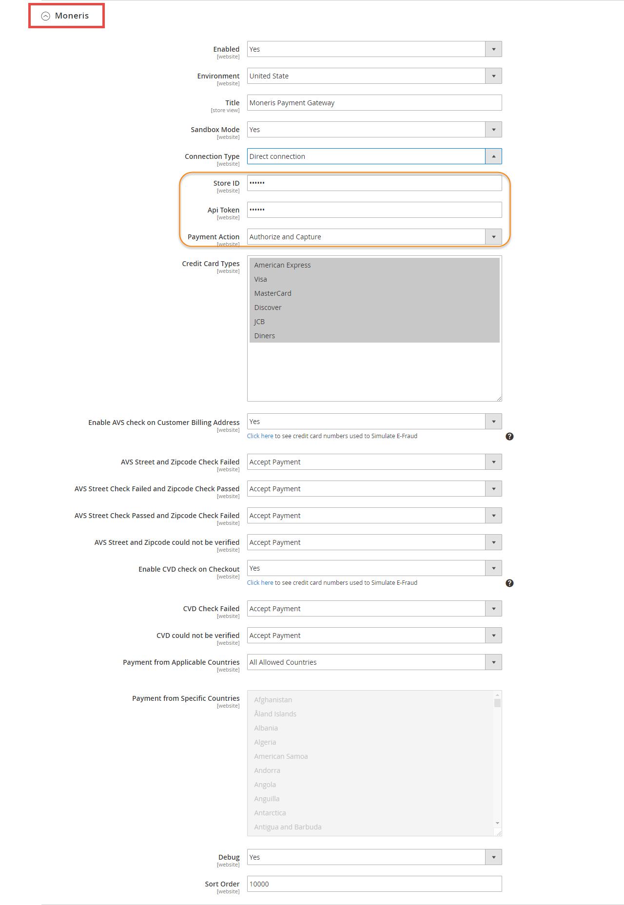 2  Moneris Payment Gateway User Guide - Documentation