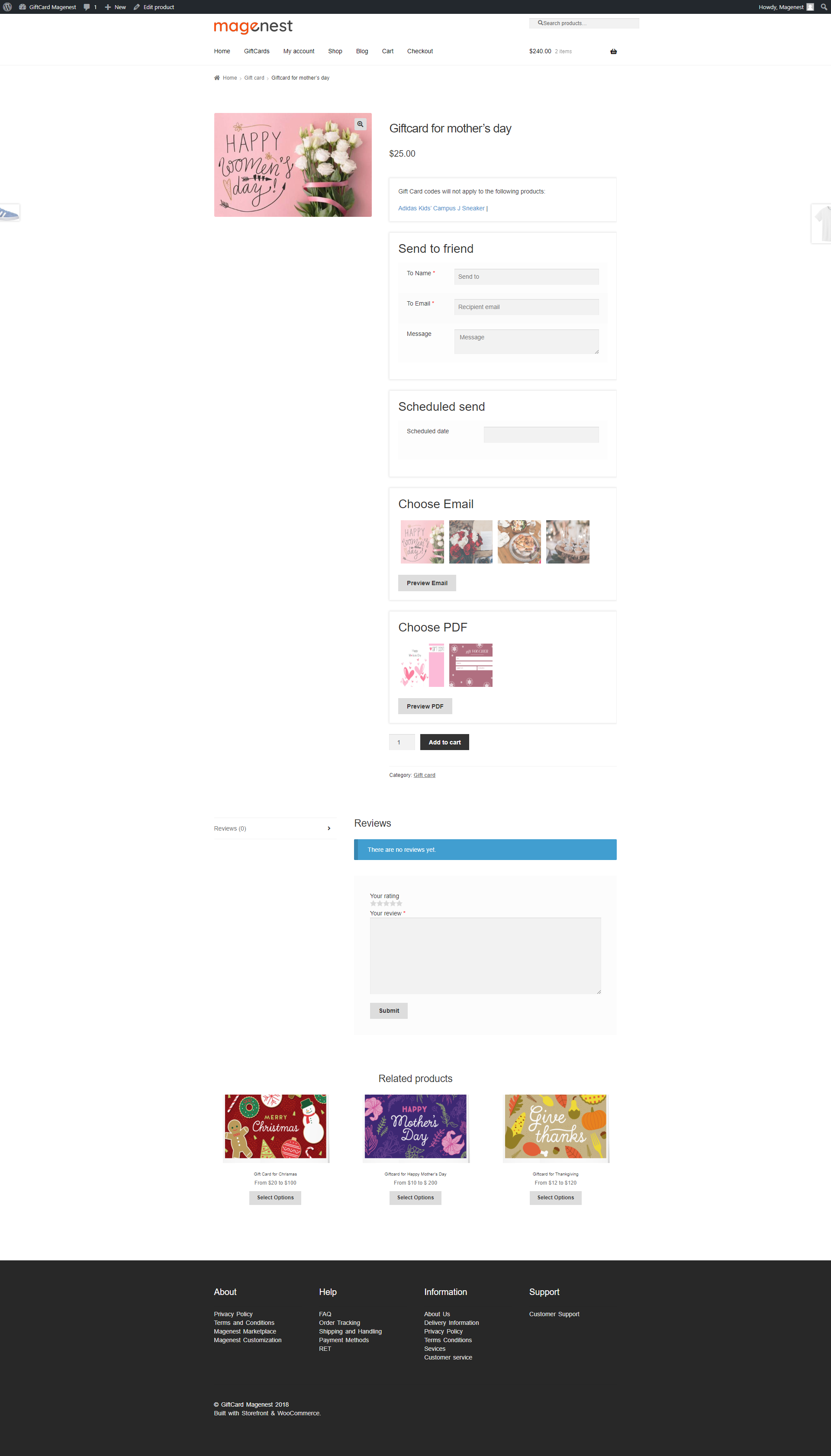 Ultimate Gift Card Pro User Guide Documentation Magenest Confluence