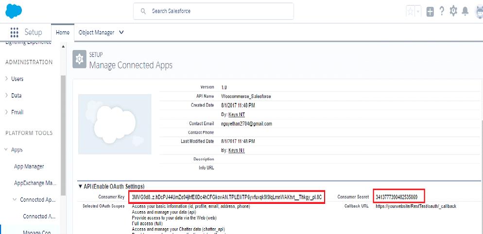 Woocommerce Salesforce CRM Integration - Documentation